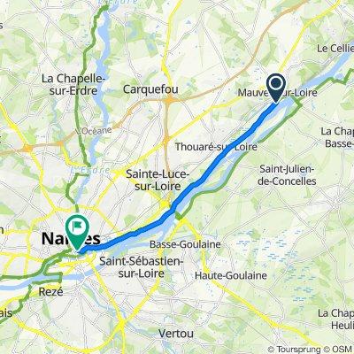 De Beau Soleil, Mauves-sur-Loire à 24 Rue Émile Péhant, Nantes