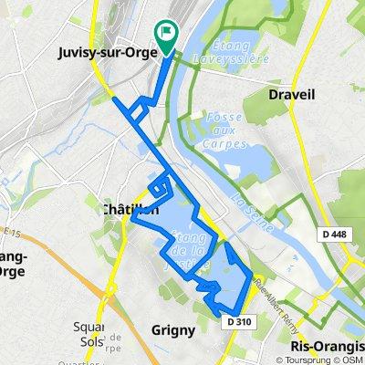 De 11 Rue George Sand, Juvisy-sur-Orge à 14 Rue George Sand, Juvisy-sur-Orge
