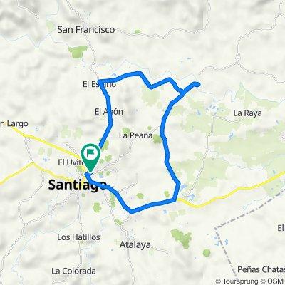 De Av. 17 C Norte, Santiago De Veraguas a Av. 17 C Norte, Santiago De Veraguas