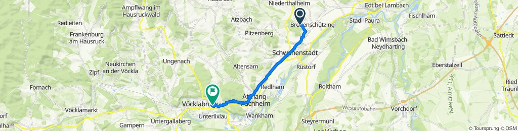 Hinterschützing 1, Schlatt nach Anton-Lumpi-Straße 13, Vöcklabruck