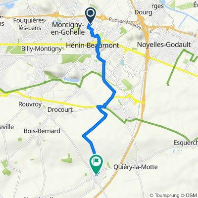De 44 Rue Pierre Curie, Hénin-Beaumont à 11 Rue de l'Église, Izel-lès-Equerchin