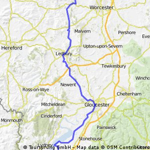 Lejog Day 6 - Wichenford