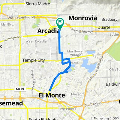 122 California St, Arcadia to 122 California St, Arcadia