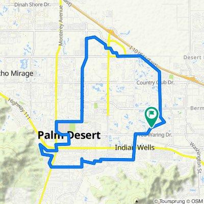 Oklahoma Avenue 76776, Palm Desert to Oklahoma Avenue 76779, Palm Desert