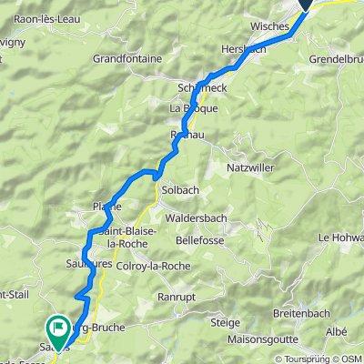 Itinéraire à partir de Rue des Seigneurs, Muhlbach-sur-Bruche