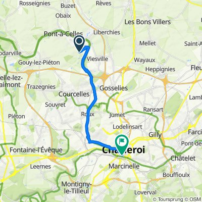 Pont-à-Celles Cycling
