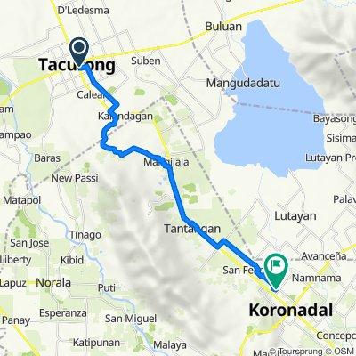 Tacurong City to Philippines, Tantangan