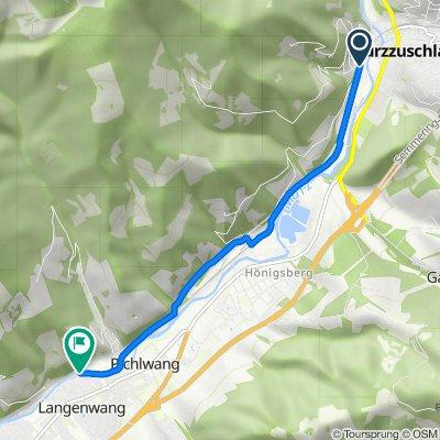 Lambachstraße 7, Mürzzuschlag nach Siglstraße, Langenwang