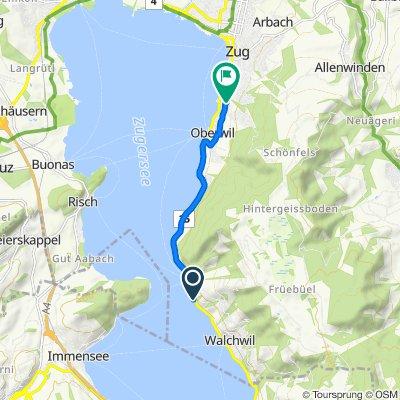 Zugerstrasse 86.1, Walchwil to Fridbach 1, Zug