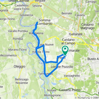 Da Via Giacomo Matteotti 84, Ferno a Via Giacomo Matteotti 118, Ferno