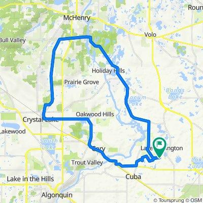 26736 W Lakeridge Dr, Lake Barrington to 26736 W Lakeridge Dr, Lake Barrington