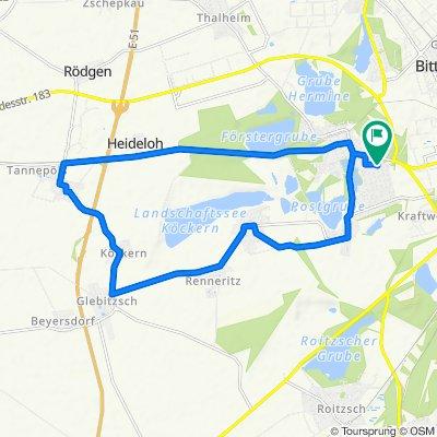 Buchenweg 26, Sandersdorf-Brehna nach Buchenweg 23, Sandersdorf-Brehna