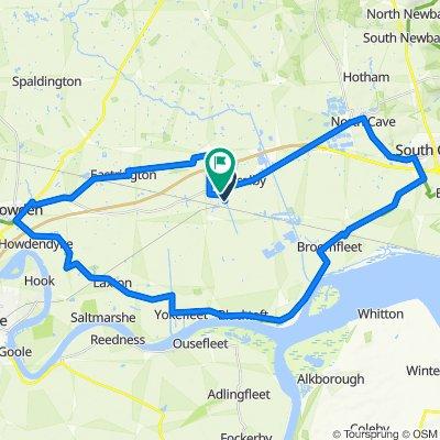 47 Laburnum Walk, Brough to 12 Willow Green, Brough