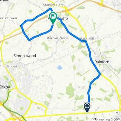 10 Mile TT route