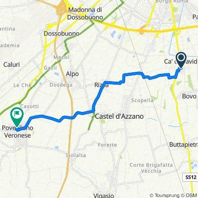 Da Via Ventura 2–4, Ca' di David a Via Piave 50, Povegliano Veronese
