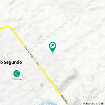 De Chacabuco, Río Segundo a Chacabuco, Río Segundo