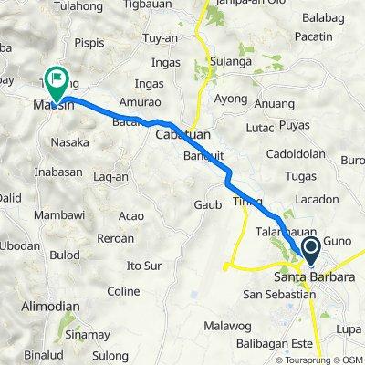 Rizal Street 070, Santa Barbara to PC Barracks Road, Maasin
