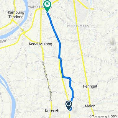 Jalan Melor - Ketereh to Lebuhraya Rakyat, Kota Bharu
