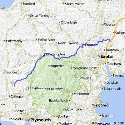 Lejog Day 3 Northern Alternative: Horsebridge to Hele