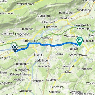 Dorfstrasse 20, Lüsslingen-Nennigkofen nach Niederönzstrasse 52, Inkwil