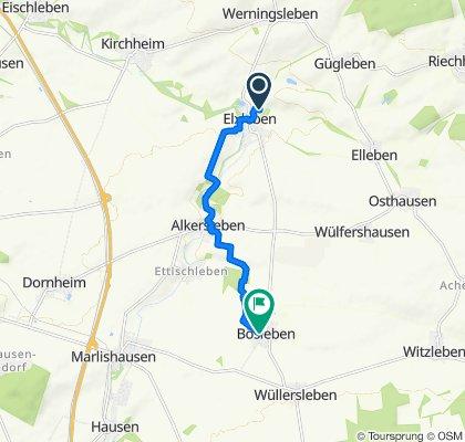 An der Schafe 16, Elxleben nach Ettischlebener Weg 19, Bösleben-Wüllersleben
