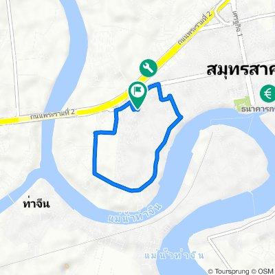 ซอย เอกชัย 4 90, ตำบล ท่าจีน to ซอย เอกชัย 4 90, ตำบล ท่าจีน