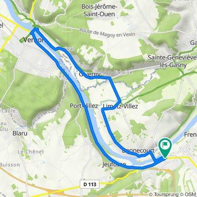 De 4 Impasse Michelet, Bonnières-sur-Seine à 6 Impasse Michelet, Bonnières-sur-Seine