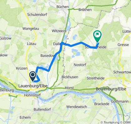Dornhorster Weg 35, Lauenburg/Elbe nach Gartenstraße 18, Schwanheide