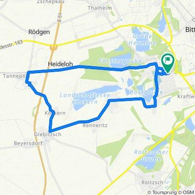 Buchenweg 23, Sandersdorf-Brehna nach Buchenweg 21, Sandersdorf-Brehna