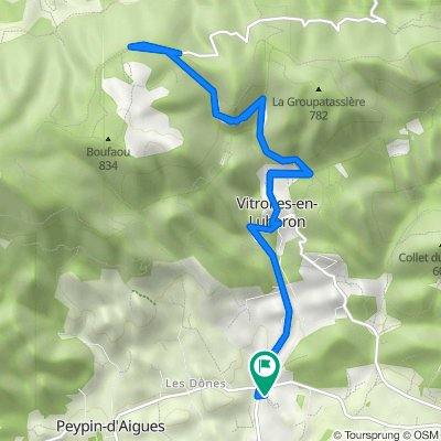 De 95 Route de Grambois, Vitrolles-en-Lubéron à 176 Route de Peypin, Vitrolles-en-Lubéron