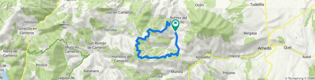 Robres del Castillo-La Santa-Santa Marina