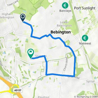 34–74 Holmville Road, Bebington, Wirral to 75 Borrowdale Road, Wirral