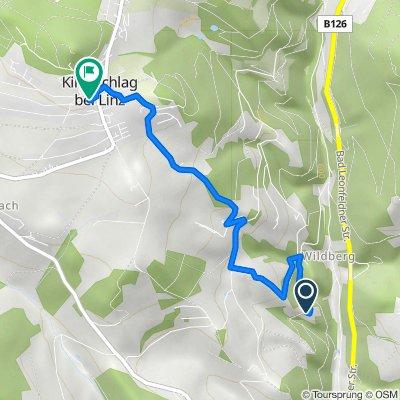 Wildberg 1, Kirchschlag bei Linz nach Sankt-Anna-Weg, Kirchschlag bei Linz