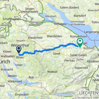 Schmiedgasse 1A, Illnau-Effretikon nach Hohenbühlstrasse 24, Roggwil