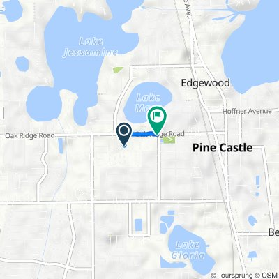420 W Oak Ridge Rd, Orlando to 4 W Oak Ridge Rd, Orlando