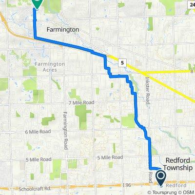 Easy ride in Farmington Hills