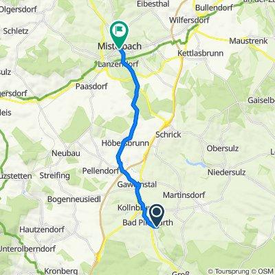 Kurhausstraße 100, Bad Pirawarth nach B40 1a, Mistelbach