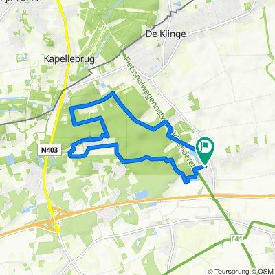 Stropersbos 8,5 km
