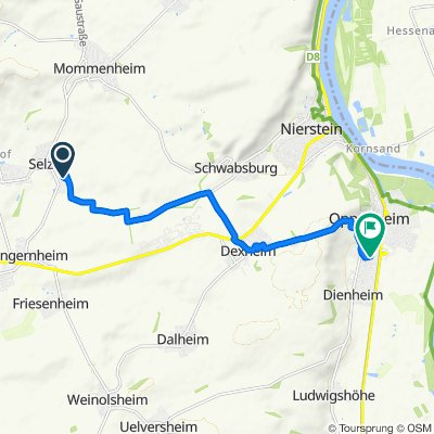 Lehrer-Wagner-Straße 4, Selzen nach Sant'Ambrogio-Ring 11, Oppenheim
