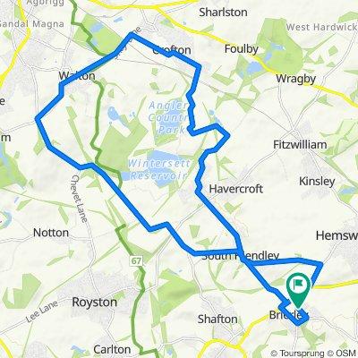 19 Spa Well Grove, Barnsley to 17 Spa Well Grove, Barnsley