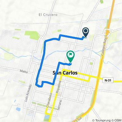 De Héctor Herrea Herrera 659, San Carlos a Independencia 853, San Carlos