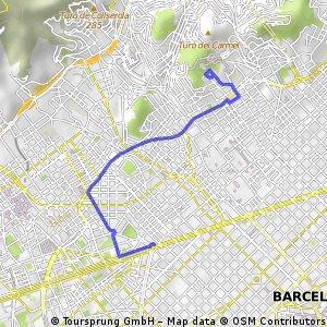 [BIKENEX Barcelona] Pl. Francesc Masià - Parc Güell