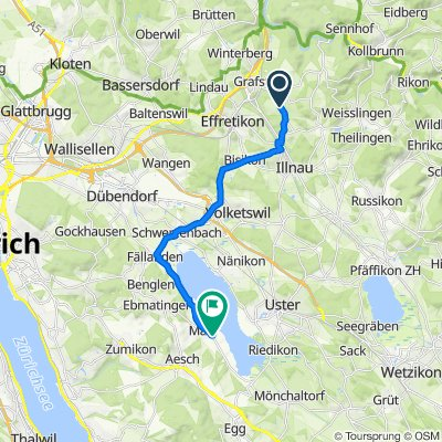 Schmiedgasse 1A, Illnau-Effretikon nach Im Tiergärtli 6, Maur