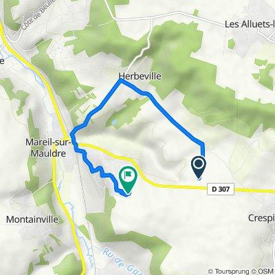 Itinéraire vers 11 Rue des Harias, Mareil-sur-Mauldre