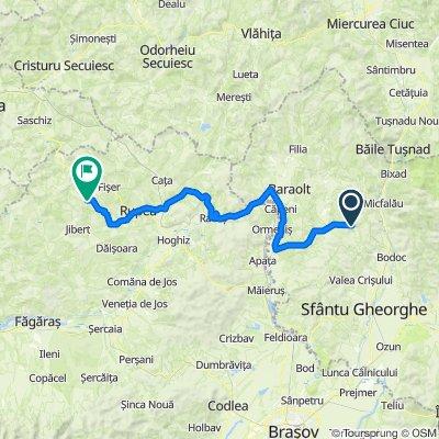 Transylvania Ride - ValeaZalanului Racos Viscri