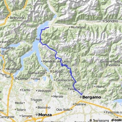 Berlin - Rom 2010 - 9. Etappe - Colico - Bergamo CLONED FROM ROUTE 386018