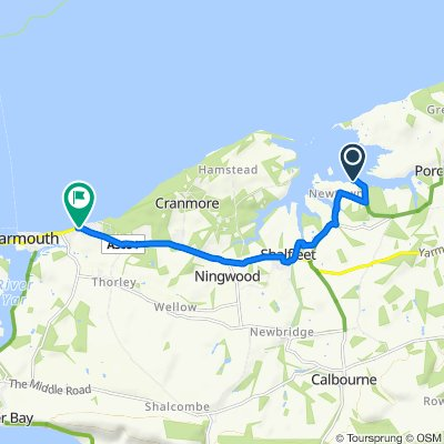 Route to Baie House, Main Road, Yarmouth
