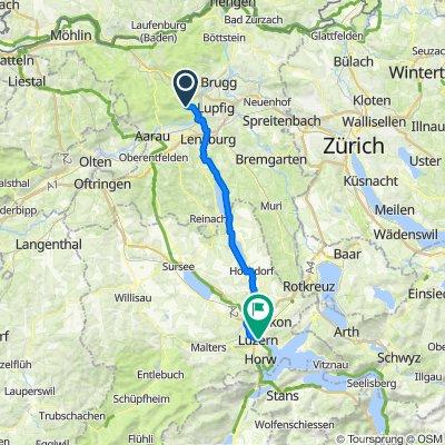 Oberflachs -- Luzern