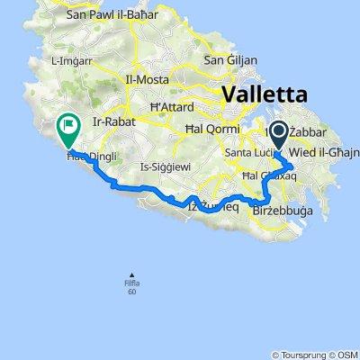 Route to Dingli 16