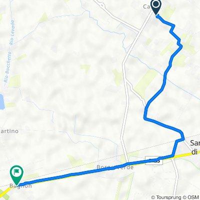 Da Via Valdrigo 11–13, Cavriè a Via San Martino 2/1, Bagnon